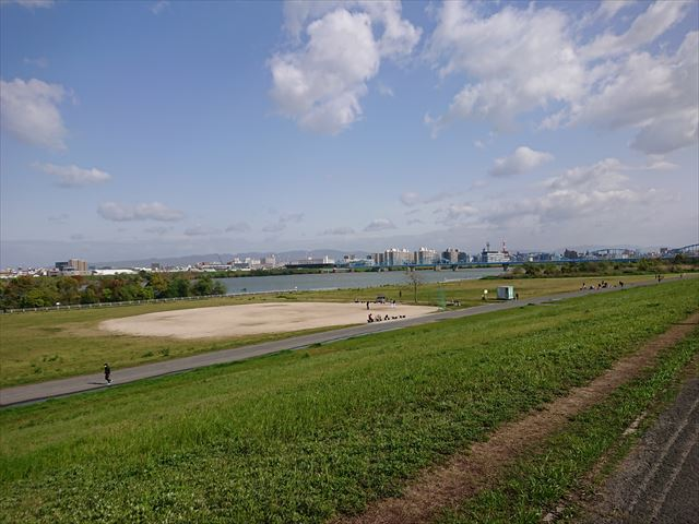 淀川河川敷公園